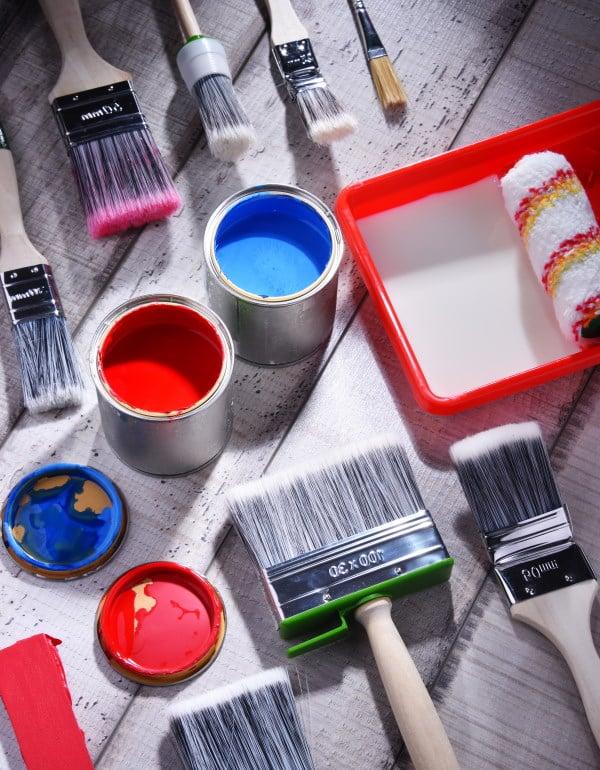 Coût de la peinture au m²