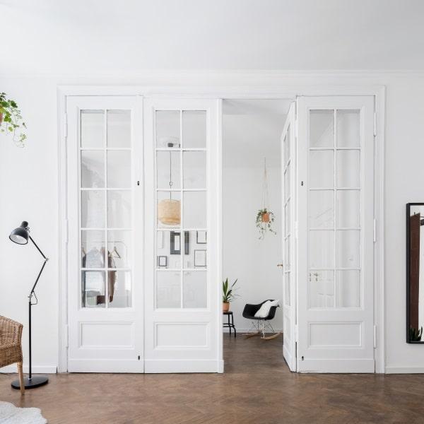 Coût de pose d'une porte vitrée