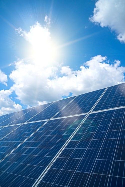 Fonctionnement de panneau solaire