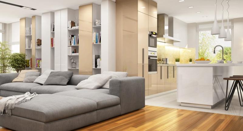 Décoration d'un séjour moderne