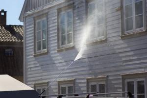 Prix du nettoyage de façade par haute pression