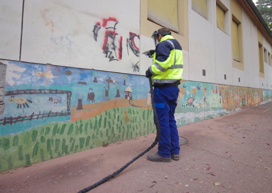 prix de nettoyage façade par nébulisation