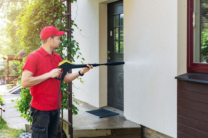 Prix du nettoyage de façade d'une maison