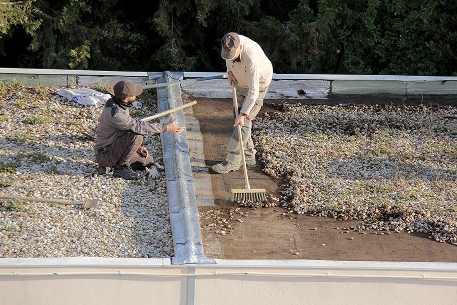 Coût d'une toiture terrasse