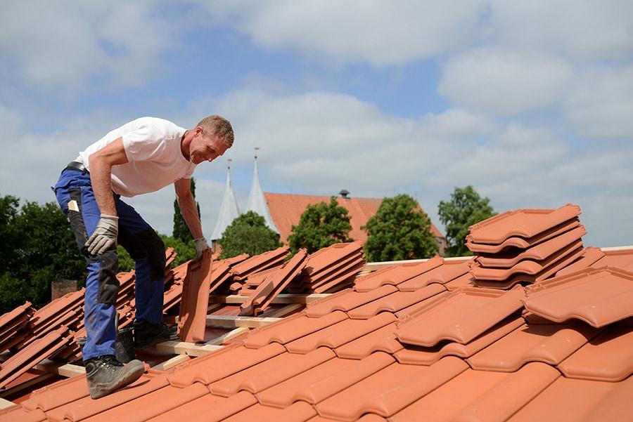 Tarif de la toiture en tuiles terres cuites