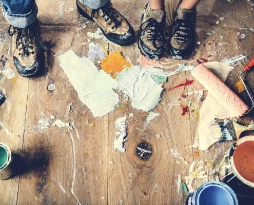 Comment enlever une tache de peinture incrustée ?