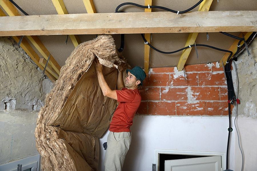 Tarif de l'isolation d'une maison en rénovation