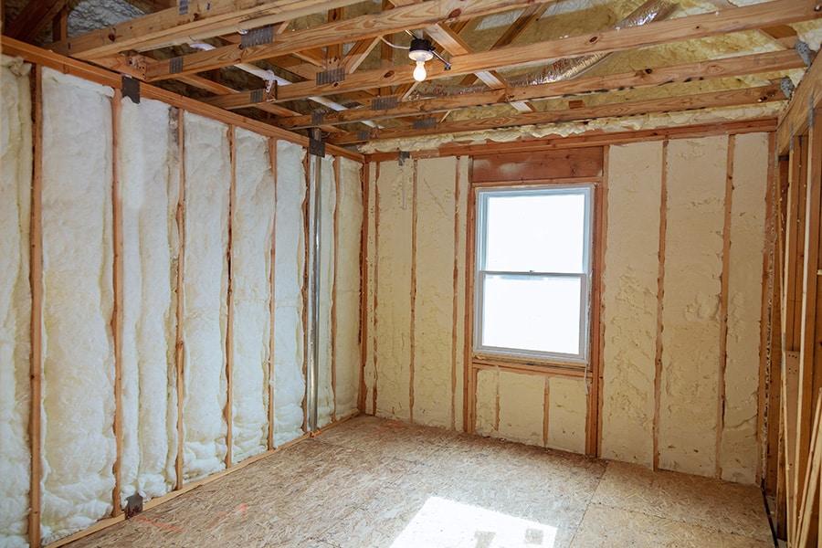 Tarif d'isolation des murs intérieurs