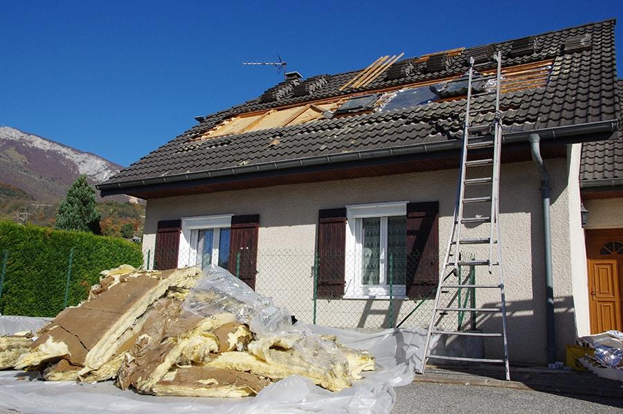 Coût d'isolation de toiture par l'extérieur