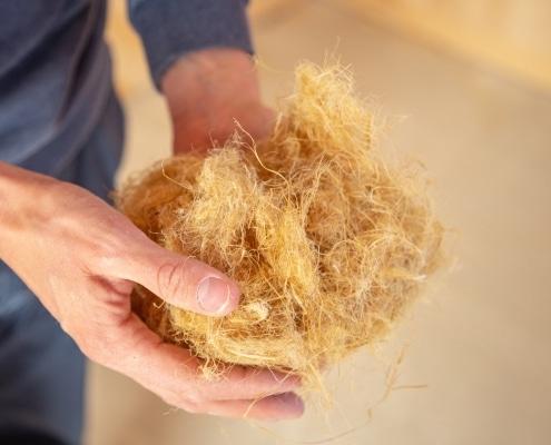 Isolant à la laine de chanvre