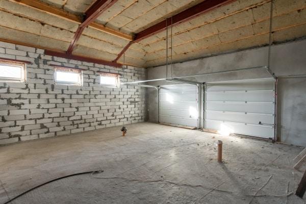 Isolation d'un garage par l'intérieur