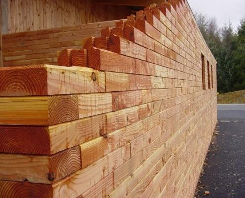 Parpaing en bois