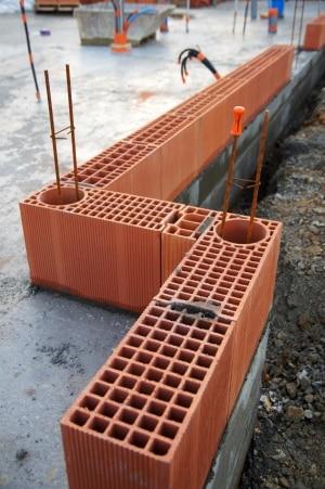 Utilisation d'une brique monomur
