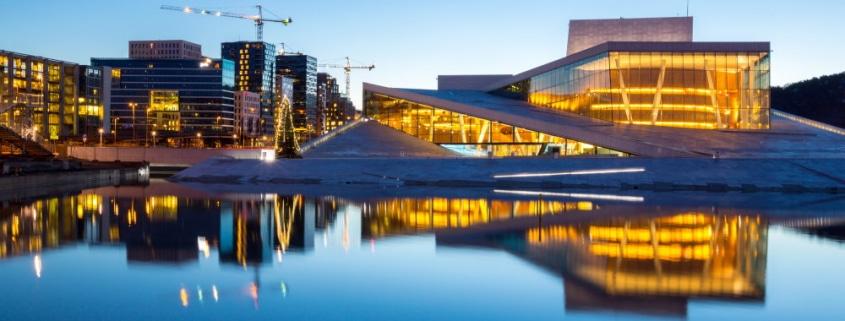 Oslo modèle de ville intelligente