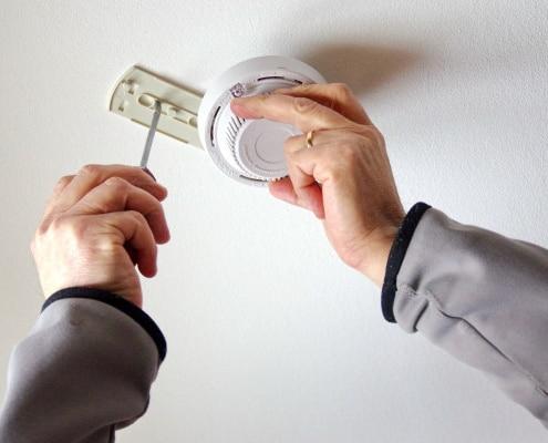 Conseils d'installation d'un détecteur de fumée électrique