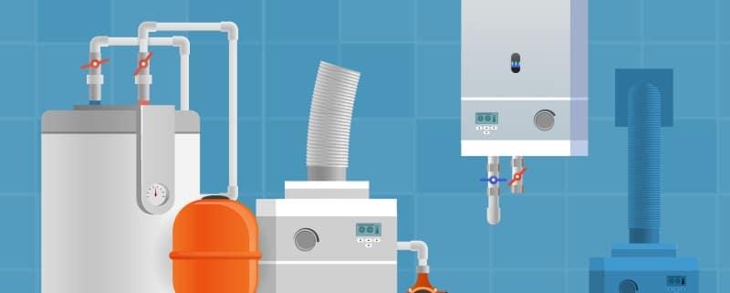Schéma de PAC air eau