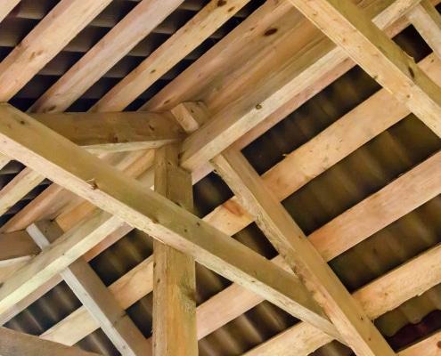 Coût d'une charpente traditionnelle en bois