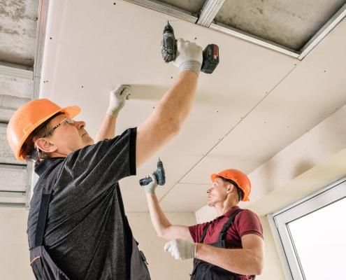Plafond en placo : comment le réaliser ?