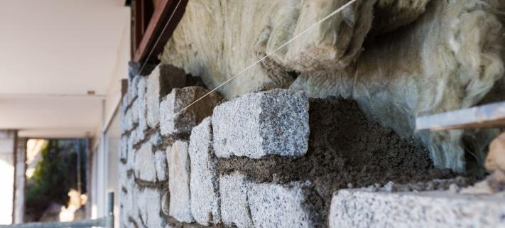 Conseils d'isolation d'un mur en pierre