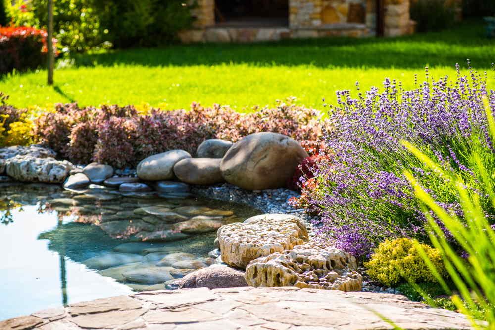 Décoration de jardin selon le Feng Shui