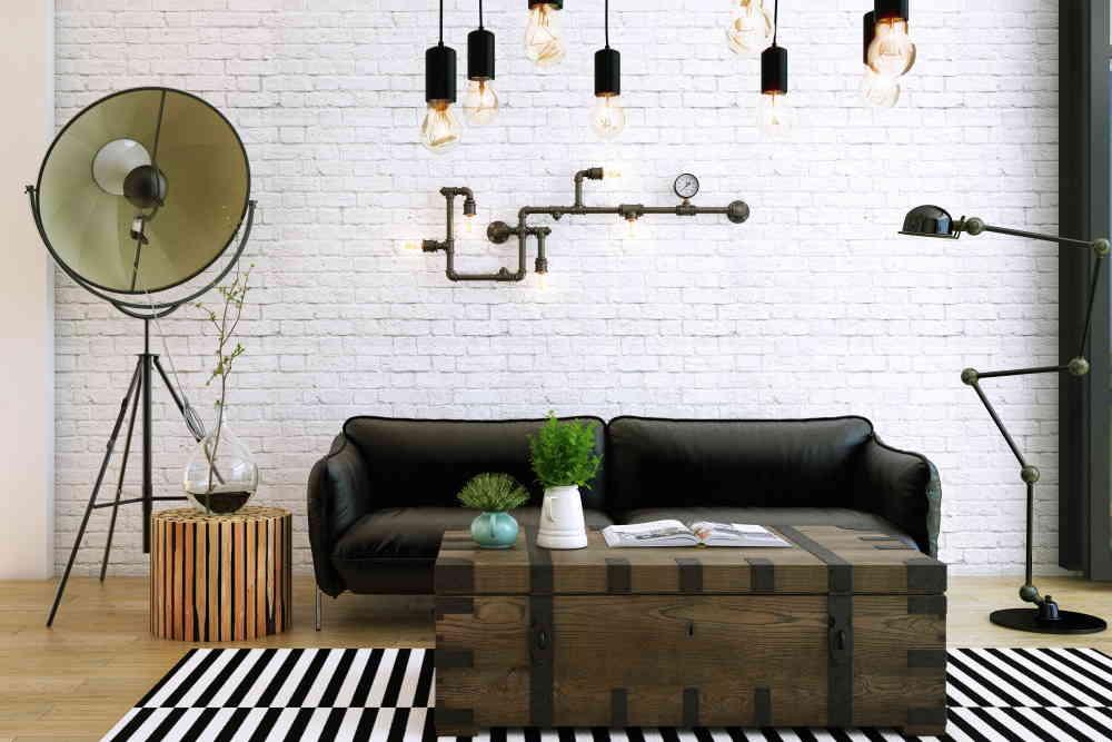Salon style industriel