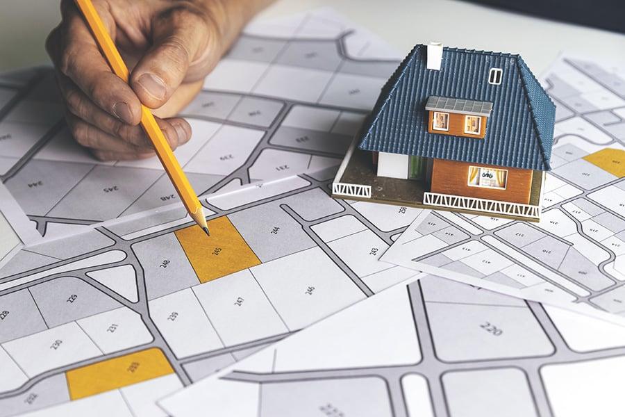 Devis construction avec prix achat terrain