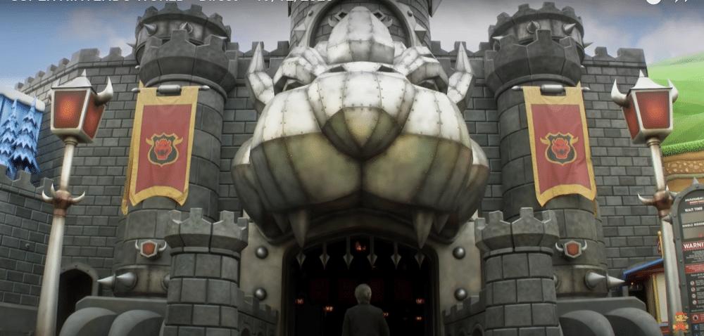 Château de Browser dans le parc Super Nintendo World