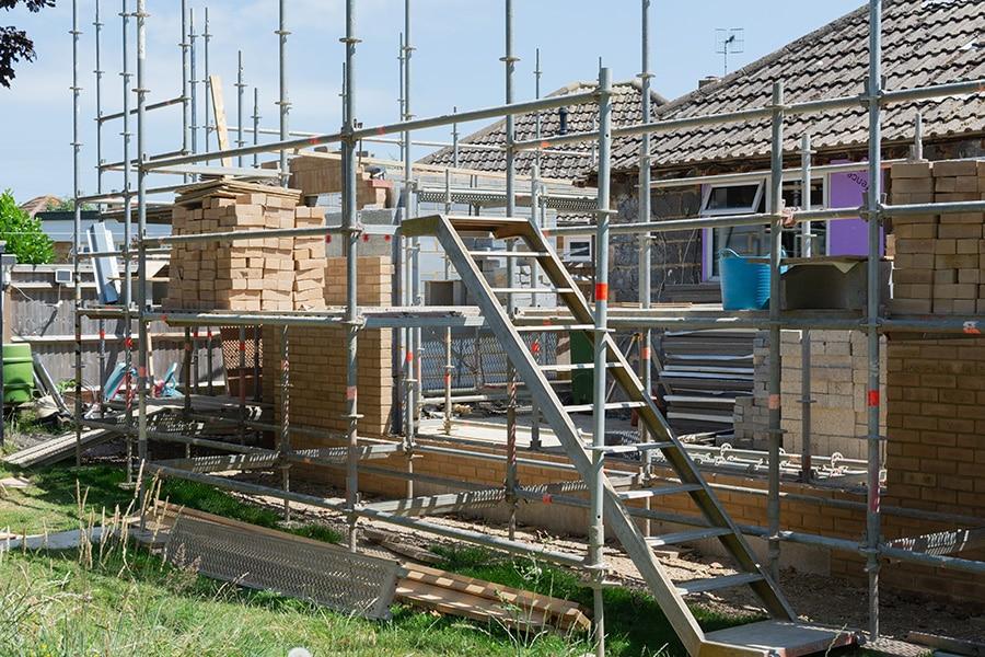Prix extension maison maçonnée
