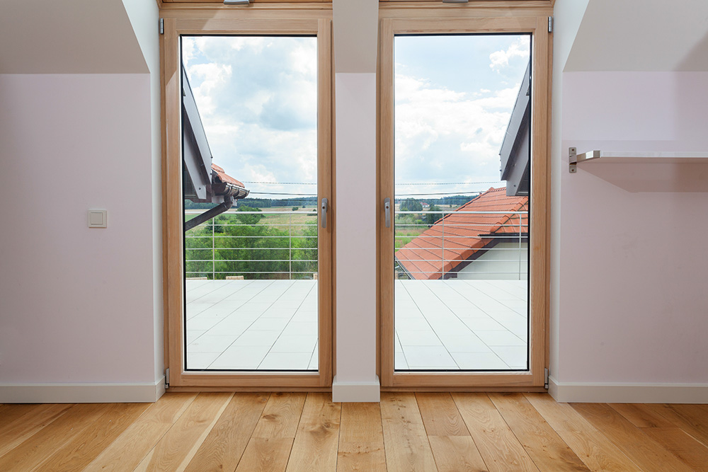 Prix d'une porte-fenêtre en bois