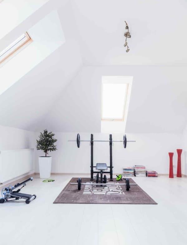 Salle de musculation à la maison