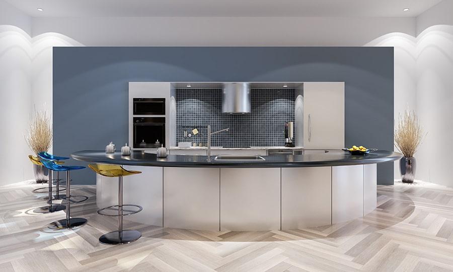 Prix d'aménagement intérieur pour une cuisine