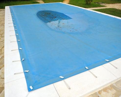 Bâche d'hivernage de piscine : comment l'installer ?