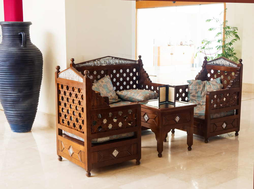 Fauteuils marocains