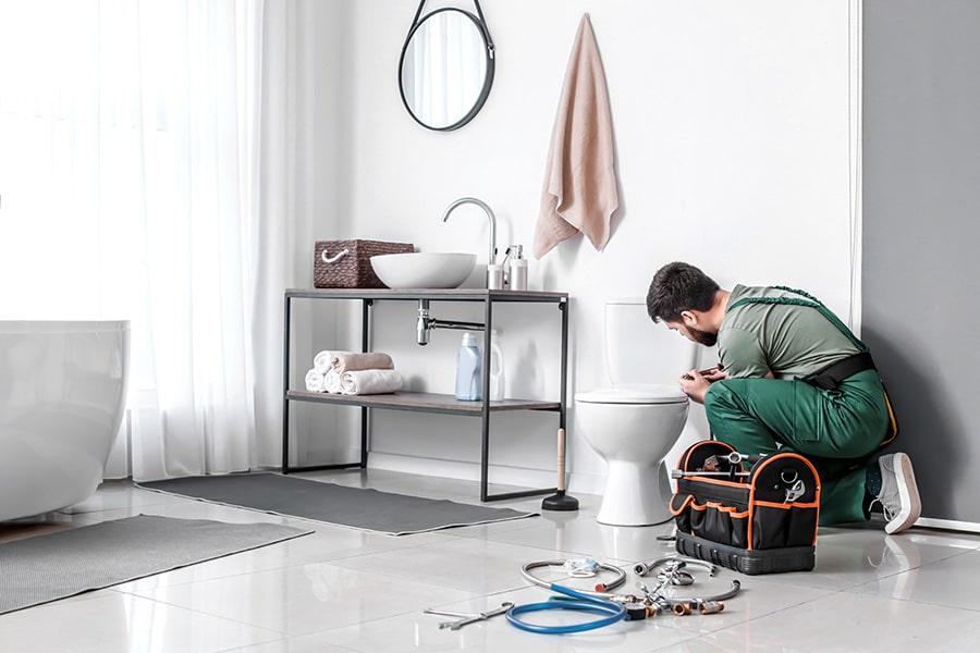 Prix de remplacement plomberie pour rénovation salle de bain