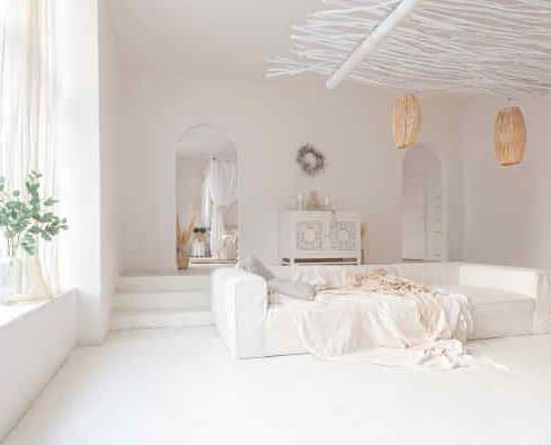 Salon décoration Boho