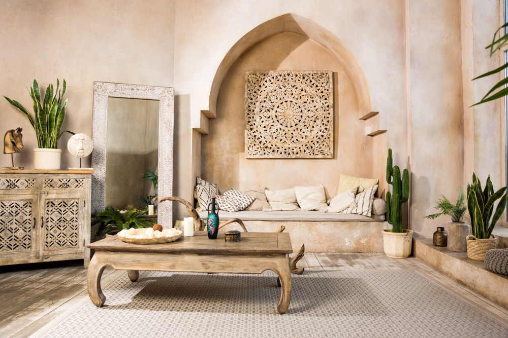 Salon style orientale