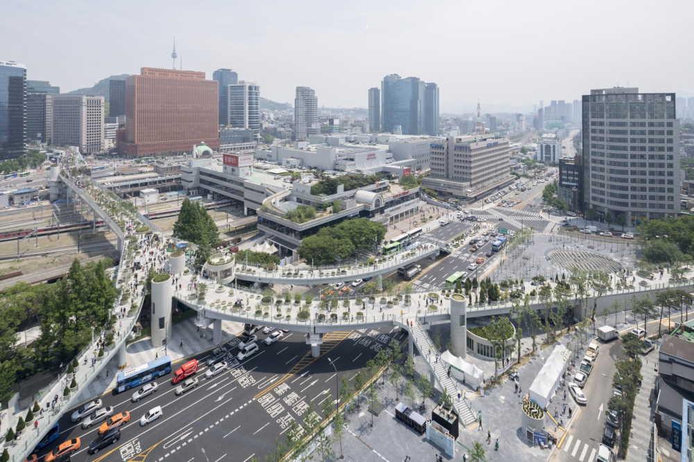 Le Skygarden à Séoul