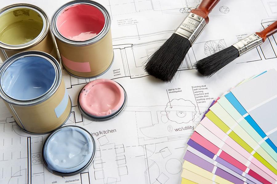 Prix de peinture maison neuve