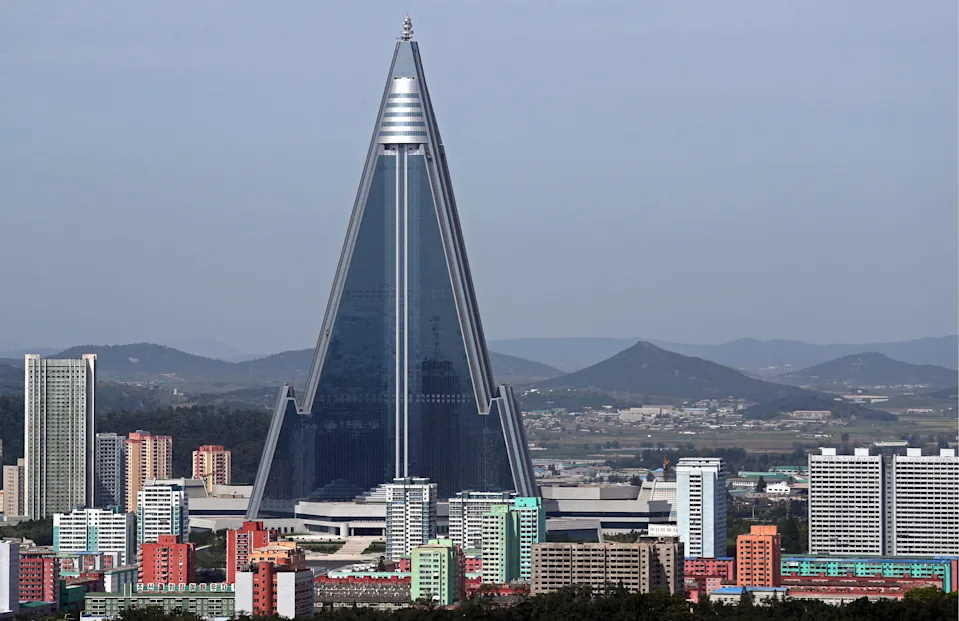 Hôtel Ryugyong en Corée du Nord