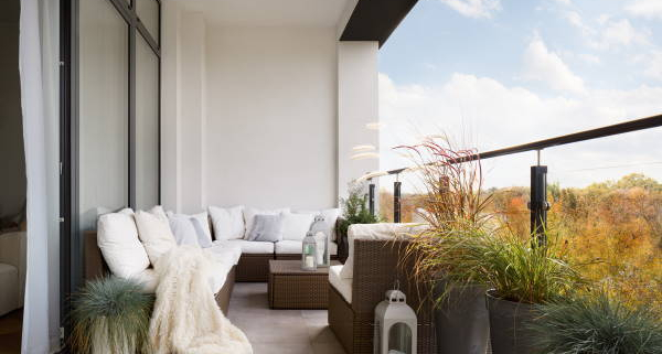 Idée décoration d'un balcon
