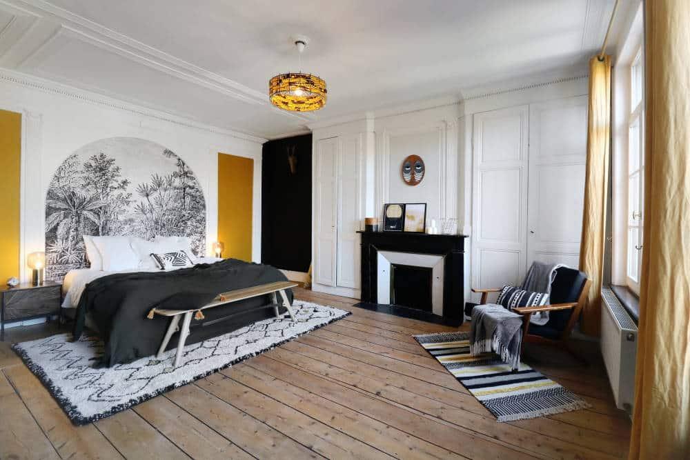 Chambre dans une maison ancienne