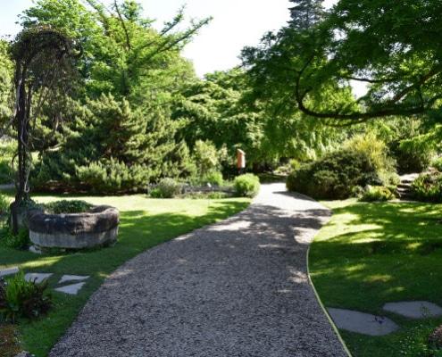 Conseils d'aménagement d'une allée de jardin