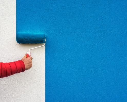 Conseils de lissage de mur avant peinture