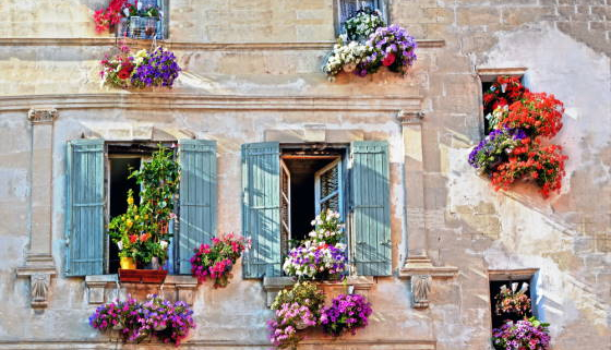 Façade provençal