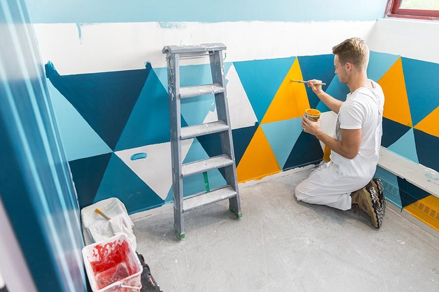 Coût d'un peintre de maison