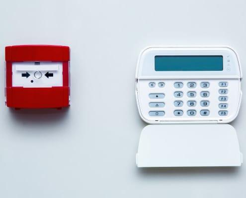 Système d'alarme filaire : le point