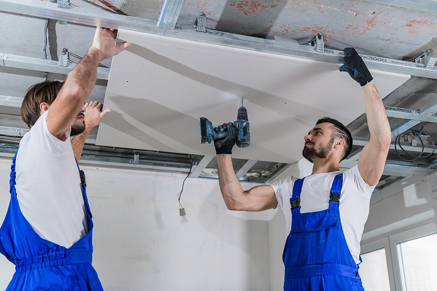 Taux TVA pour pose plafond