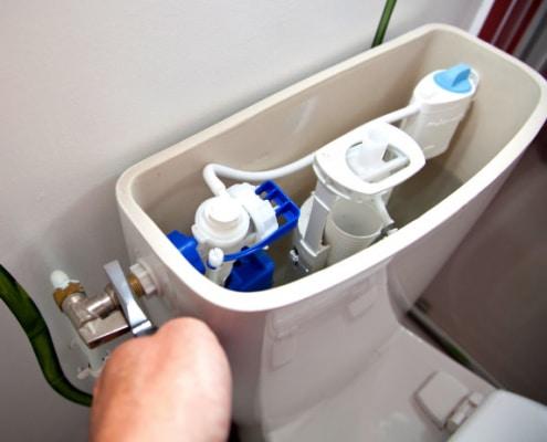 Réussir la réparation d'une chasse d'eau