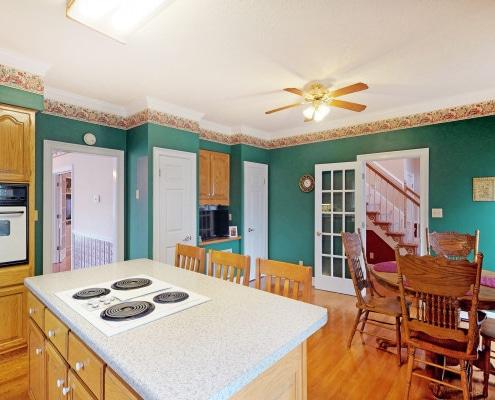 Salle à manger rustique : la bonne couleur de peinture