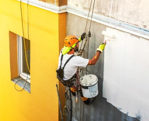 Conseils pour choisir la peinture d'une façade